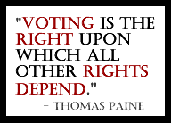 paine vote quote